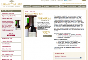 Cellars Wine Club - Quarterly Case Club