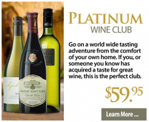 Cellars Platinum Wine Club