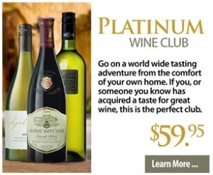 Cellars Platinum Wine Club