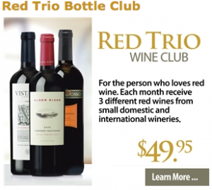 Cellars Wine Club - Red Trio Wine Club