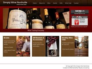 Simply Wine of Center Street Cellar in Northville MI 48167